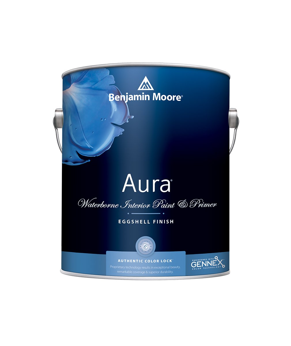 Benjamin Moore Aura® Interior Paint in a Matte finish at Harrison Paint Co. in Shreveport, Bossier City and West Monroe, LA.