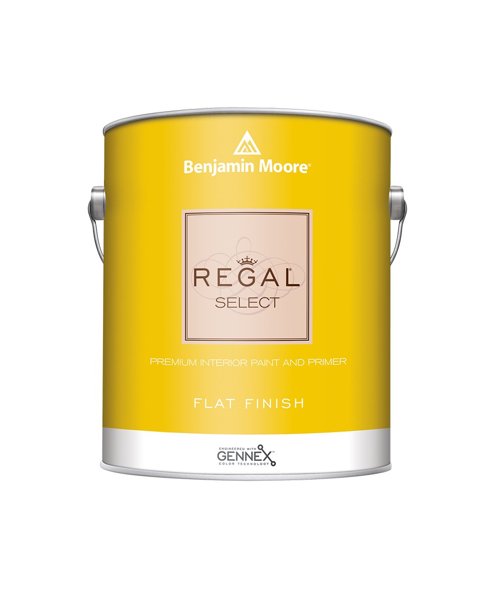 Benjamin Moore REGAL® Select Interior Paint in a Ulti-Matte finish at Harrison Paint Co. in Shreveport, Bossier City and West Monroe, LA.