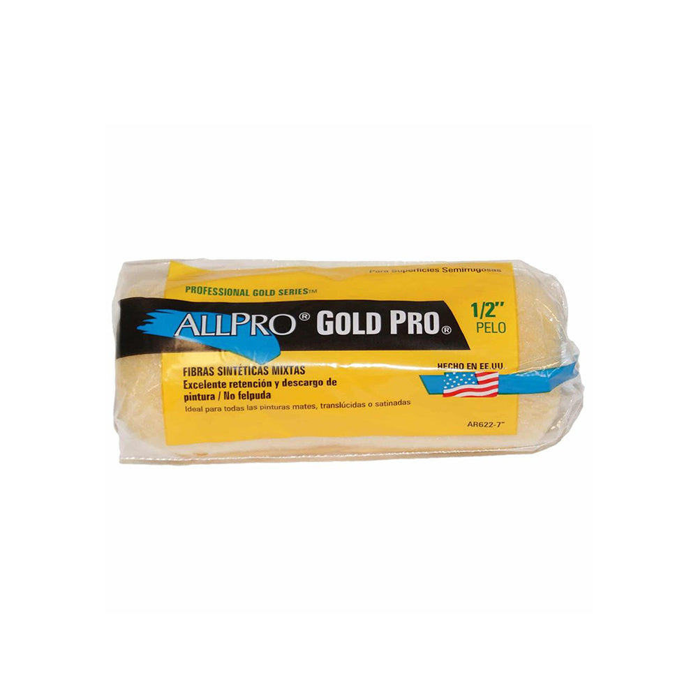 "4.5"" Allpro Gold Pro Mini Paint Roller Cover"