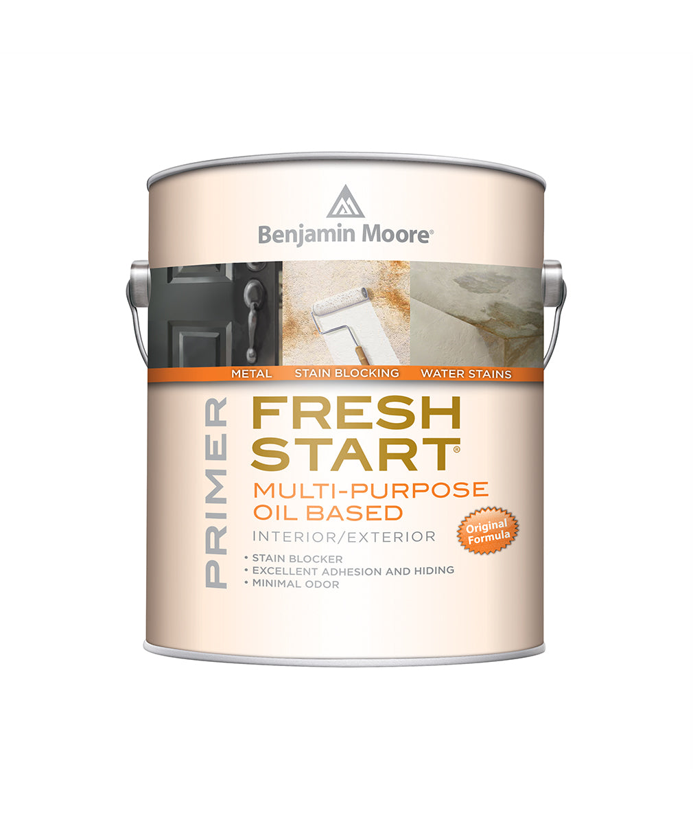 Fresh Start All-Purpose Oil-Based Primer, available at Harrison Paint Co in LA.