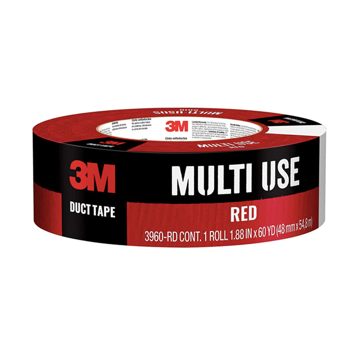 3M 1.88x60 yd Red Duct Tape