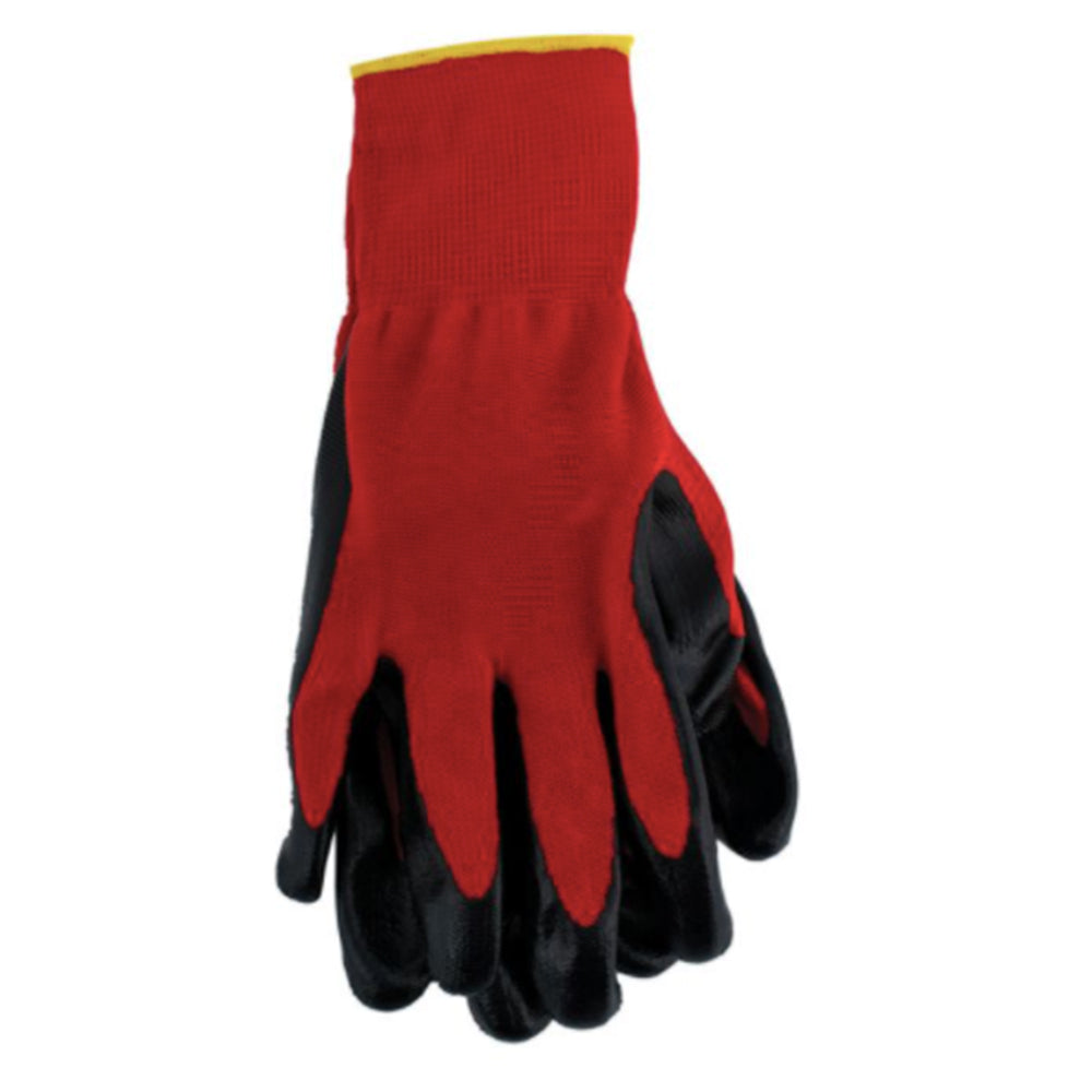 Allpro Nitrile Coated Red Palm Gloves