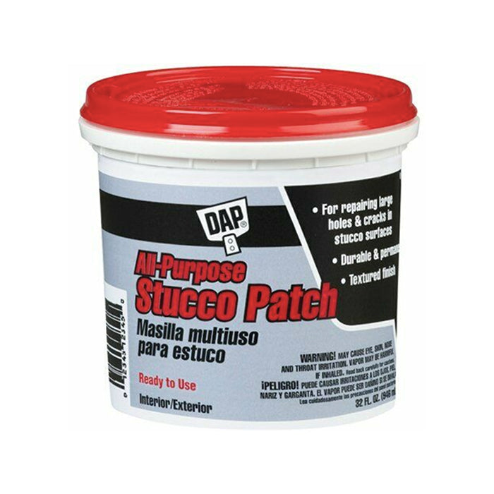 All Purpose Stucco Patch, available at Harrison Paint Co in Louisiana.