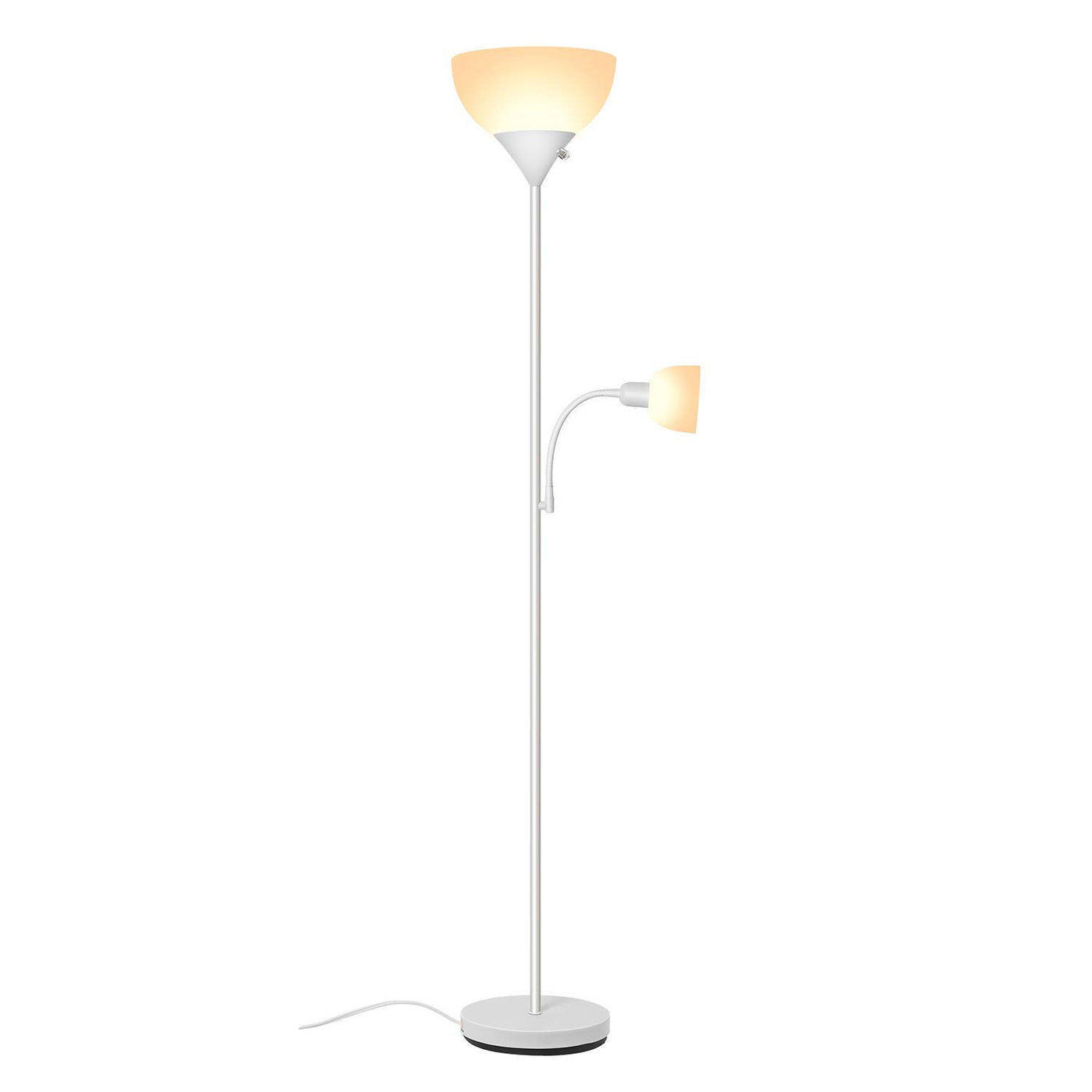 Sunllipe Led Torchiere Floor Lamp With Reading Lamp 70 5 Energy