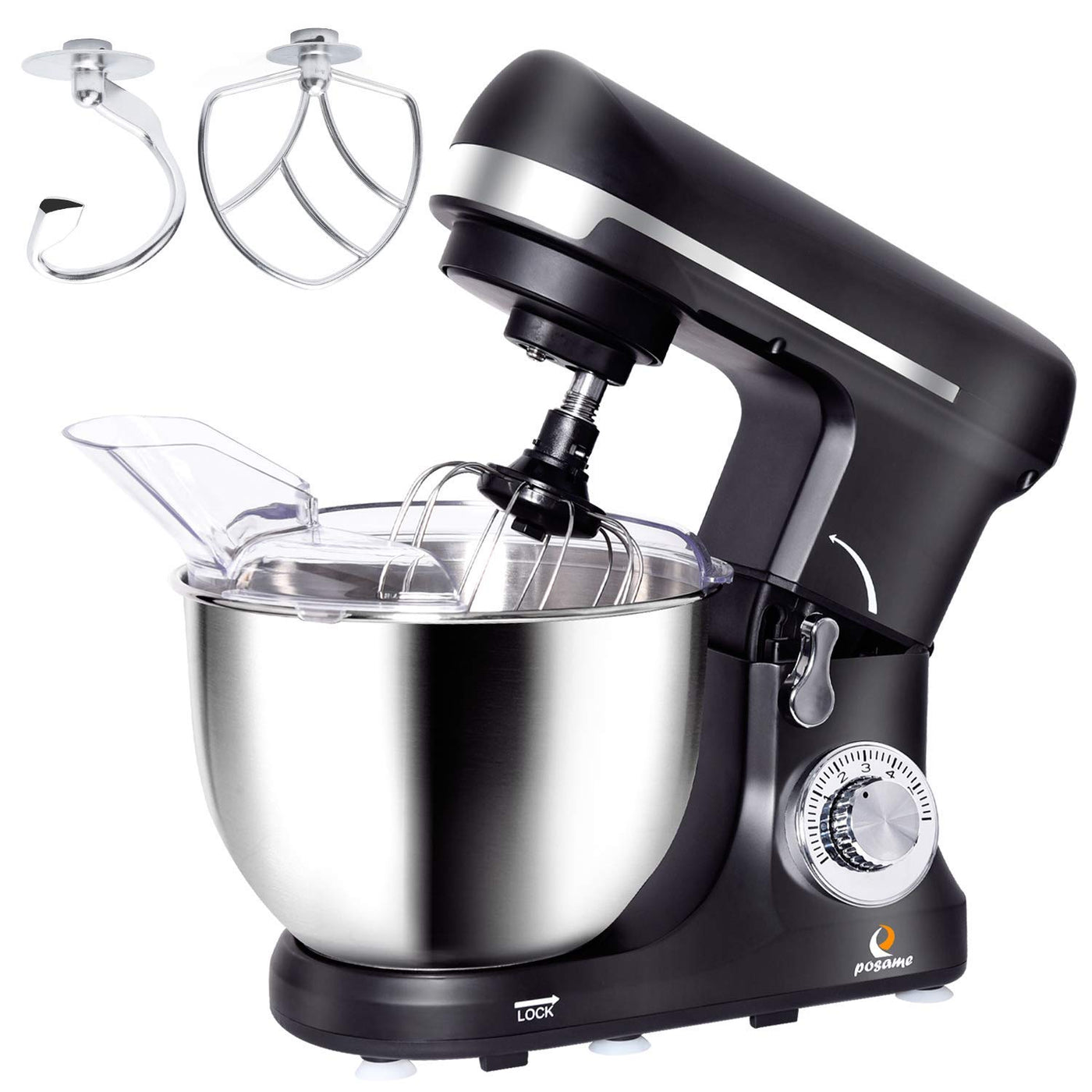 POSAME Professional Kitchenaid Stand Mixer 500W