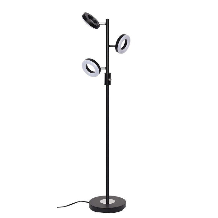 SUNLLIPE 3 Lights Tree Floor Lamp 60 Inches 21W