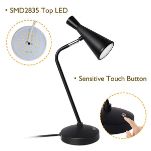 SUNLLIPE Desk Lamp 7W Touch Control