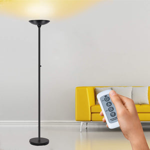 SUNLLIPE LED Torchiere Floor Lamp 24W Remote Control