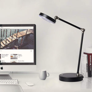 SUNLLIPE 7W LED Swing Arm Desk Lamp