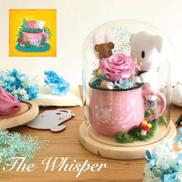 Japan Preserved Bouquet - The Whisper