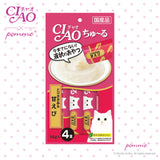 Ciao Treat in Soup for Cat - chicken Fillet & shrimp Flavor 14g x 4