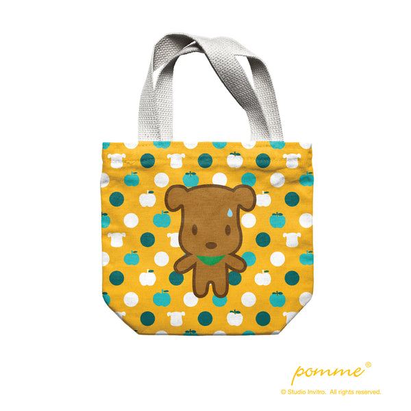 Lunch Bag - Polka Dot Latte