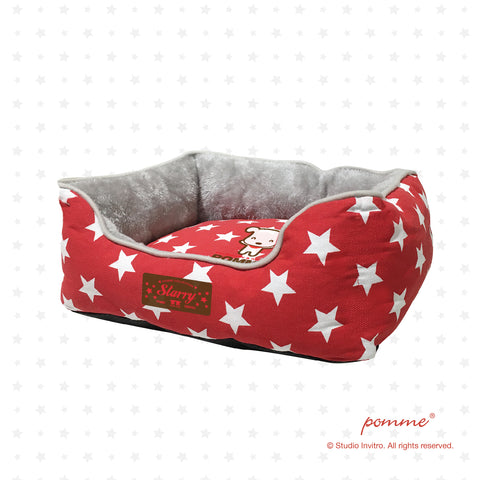 PommeSnuggle Starry Red Pomme - M