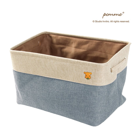 Linen Soft Box Grande - Blue