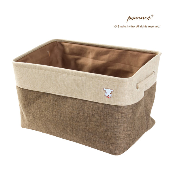 Linen Soft Box Grande - Brown
