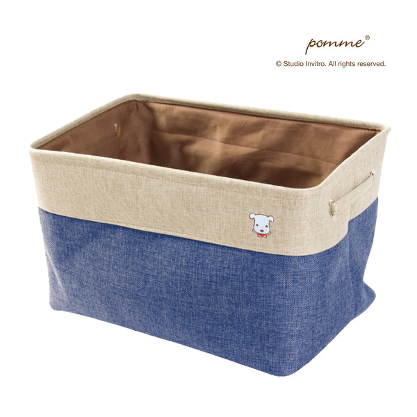 Linen Soft Box Grande - Navy