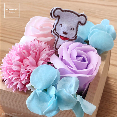 Soap Bouquet Box - Spring Garden