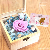 Japan Preserved Bouquet Box -  The Sweet Taffy Pink