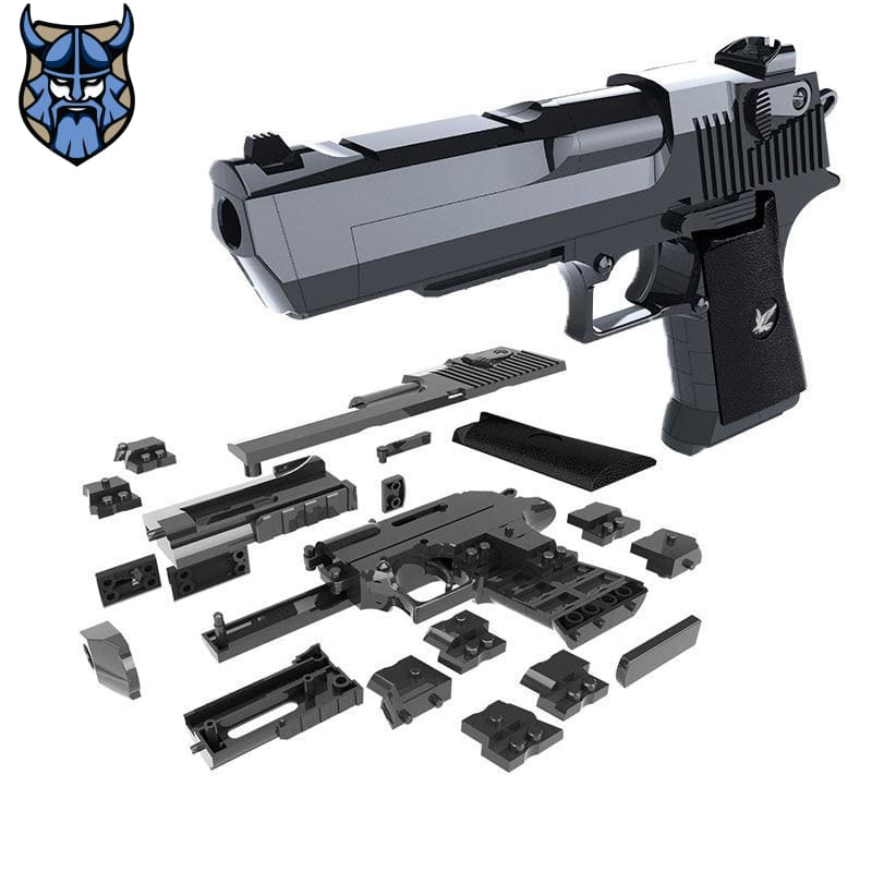 Desert Eagle Airsoft Gun | DIY Building Blocks Kit