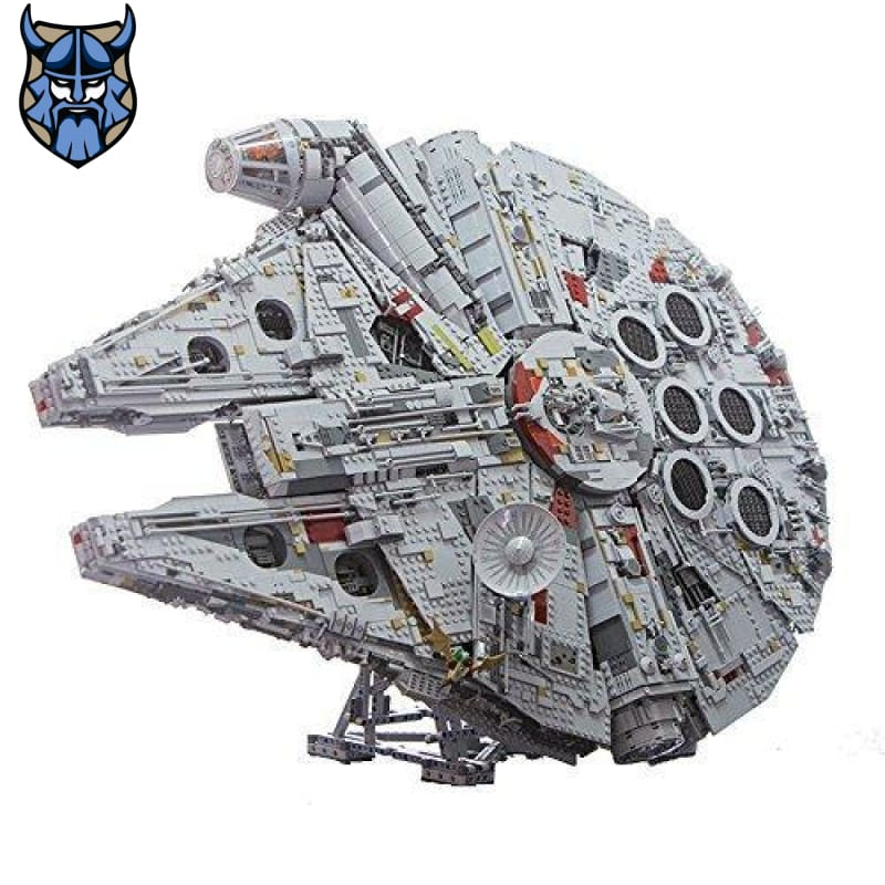millennium falcon lego  Gray Display Stand for LEGO UCS Millennium Falcon 75192 & Lepin 05132