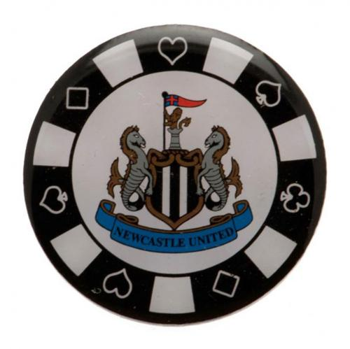 Newcastle United F.C. Poker Chip Badge Official Licensed Product