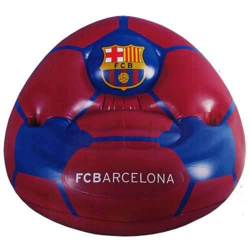 F.C. Barcelona Inflatable Chair  Official Licensed Product
