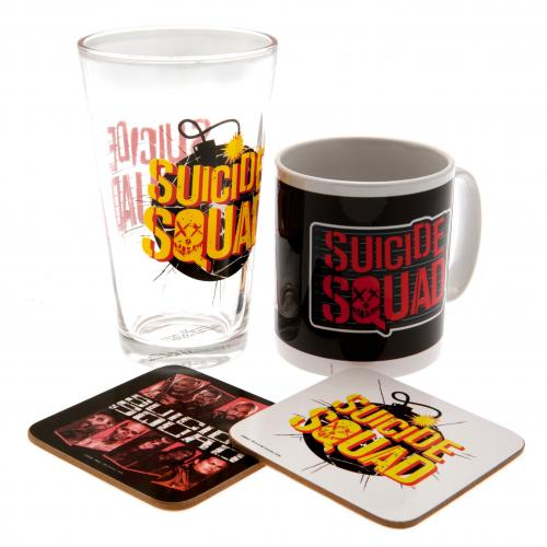 Suicide Squad Gift Set Official Licensed Product