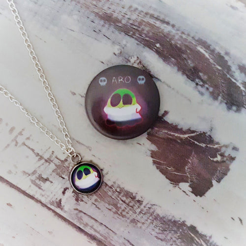 Cute Spooks, ARO Ghost Necklace