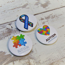 Load image into Gallery viewer, Autism Awareness, Pin Badges (WHOLESALE)