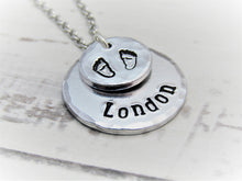 Load image into Gallery viewer, Angel Baby, Personalised Necklace