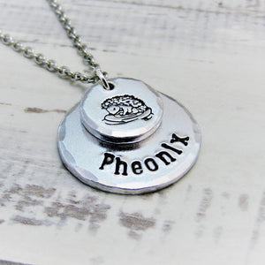 Hedghog, Personalised Necklace