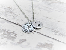 Load image into Gallery viewer, Sigil of Lucifer, Personalised Necklace