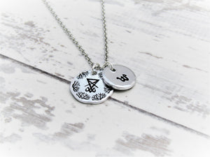 Sigil of Lucifer, Personalised Necklace