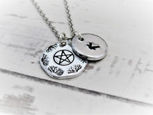 Load image into Gallery viewer, Pentagram, Personalised Necklace