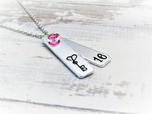 Load image into Gallery viewer, 16th Birthday, Milestone Necklace