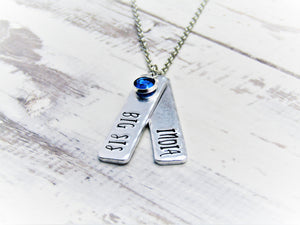 Big Sis, Lil Sis, Personalised Necklaces