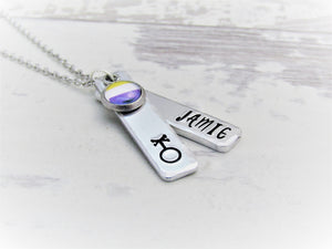 Signature Non Binary, Personalised Necklace