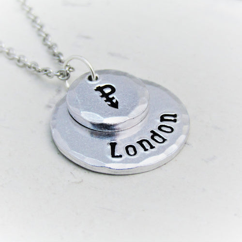 Personalised Symbolic, Pansexual Necklace