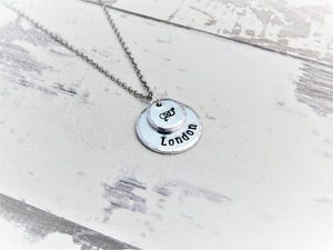 Personalised Symbolic, Bisexual Necklace