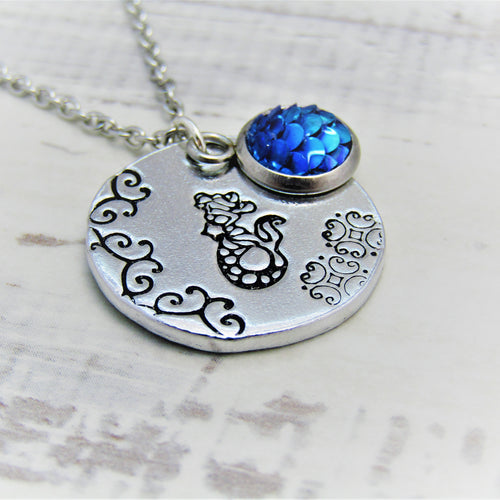 Gazing Mermaid Necklace