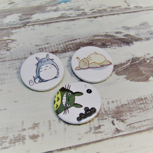 My Neighbour Totoro, Mood Set of 3 Pin Badges
