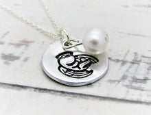 Load image into Gallery viewer, Snowdrop Memorial, Pearl Necklace