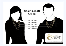 Load image into Gallery viewer, Black Ribbon, Awareness Necklace