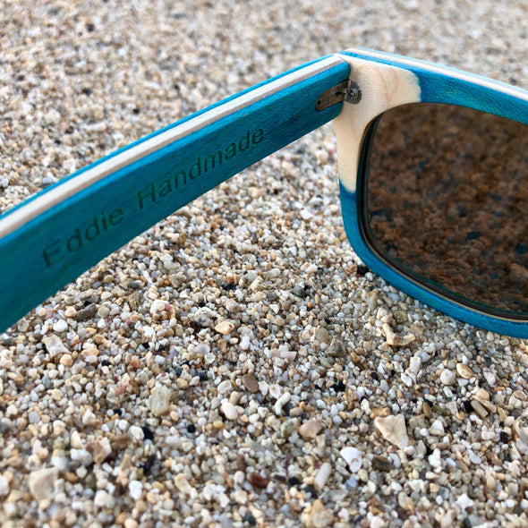 Lani Kai Ocean Wood Sunglasses