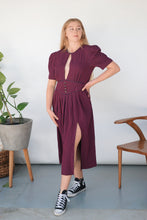 Load image into Gallery viewer, Transformed Vintage Dress - Modified and Upcycled - Zero Waste Fashion - Size Medium