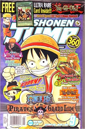Shonen Jump Vol. 4, issue 9 Sept 2006