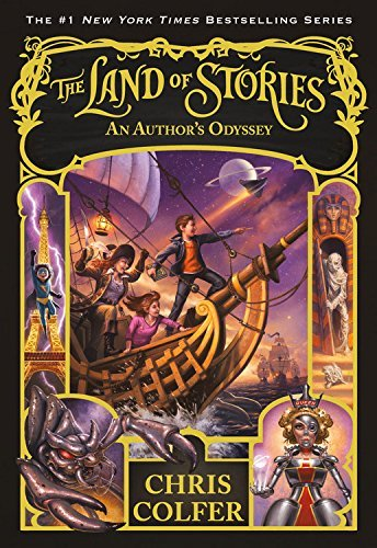 The Land of Stories #5: An Author's Odyssey (HC)