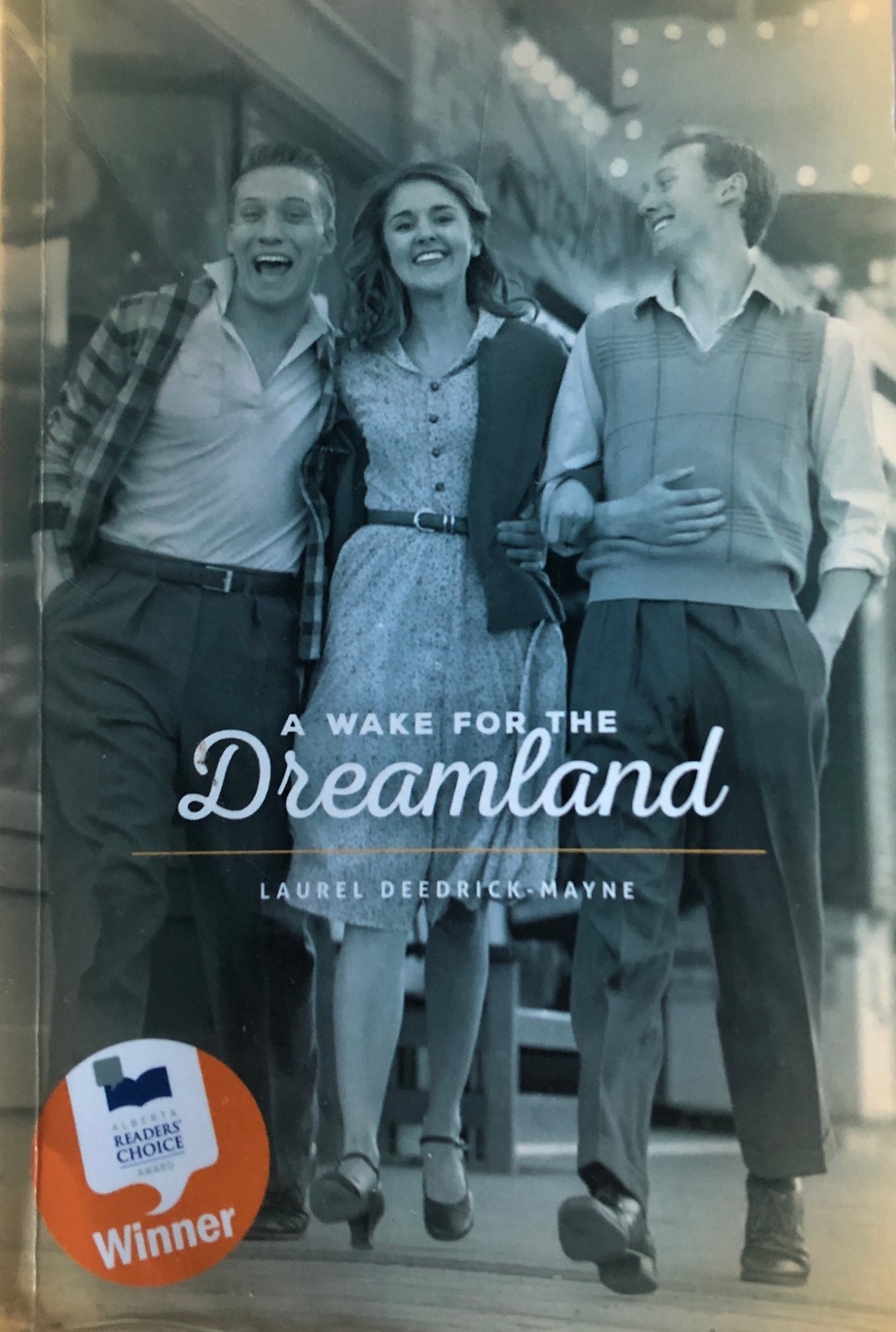 A Wake for the Dreamland (Author Signed)