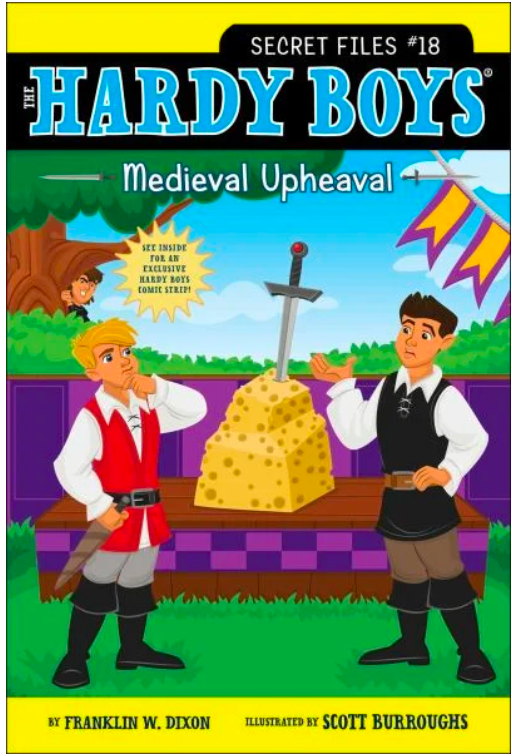 Hardy Boys, Secret Files #18: Medieval Upheaval
