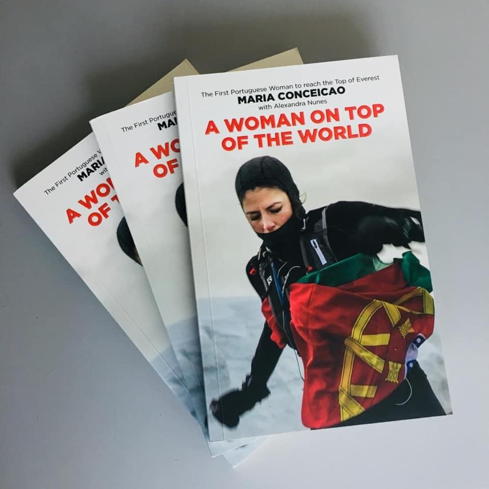 A Woman on Top of the World (signed by the author)